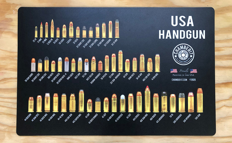 USA Handgun Cleaning Mat