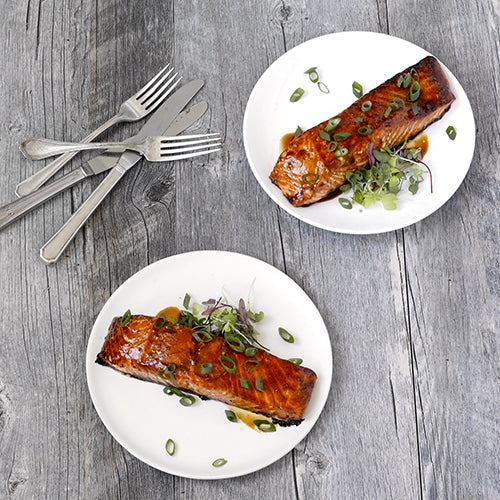 Teriyaki-Miso Salmon Fillets