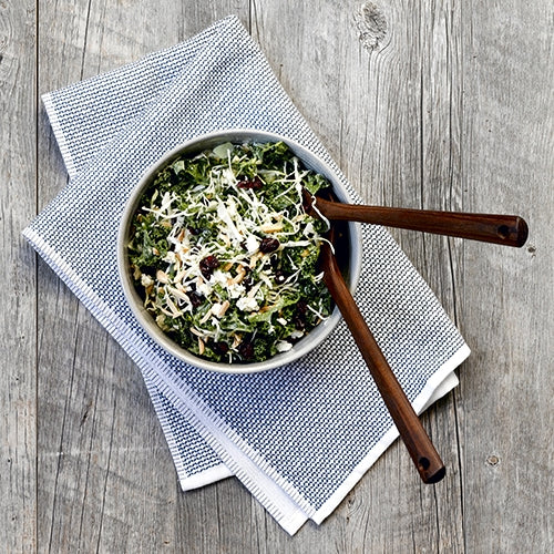 Fall Kale & Cabbage Salad
