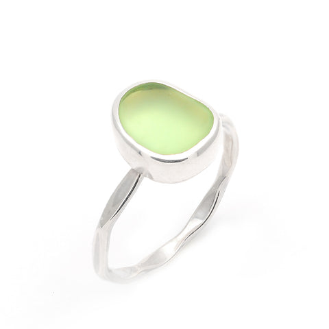 Eco Sea Glass Stacking Rings