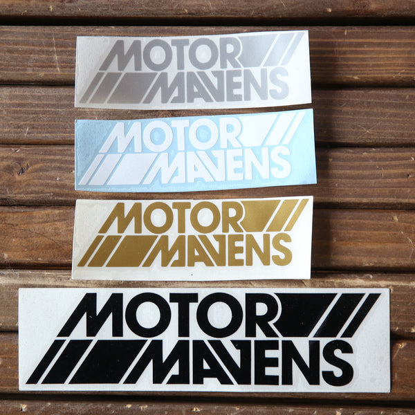 MotorMavens OG Logo Stacked Decal