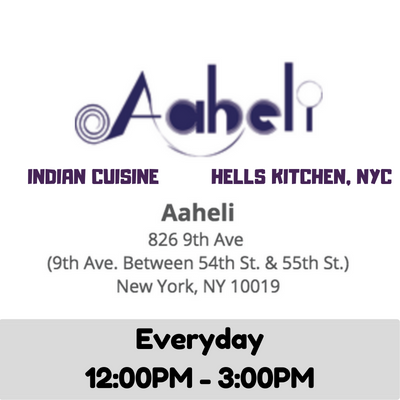 Aaheli Indian Cuisine (NYC)