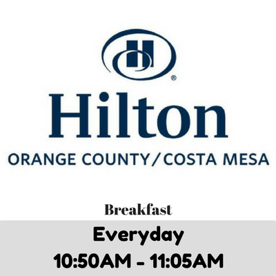 BuffetGO Hilton Costa Mesa Breakfast Buffet