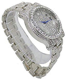 Lab Diamond and 18k White Gold Royalty Watch and Cross
