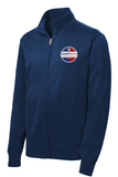 241 Archway North Phoenix Athletic Lightweight Fleece Lined Jacket