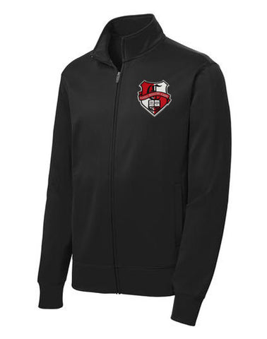 241 Chandler Prep Black fleece lined athletic jacket