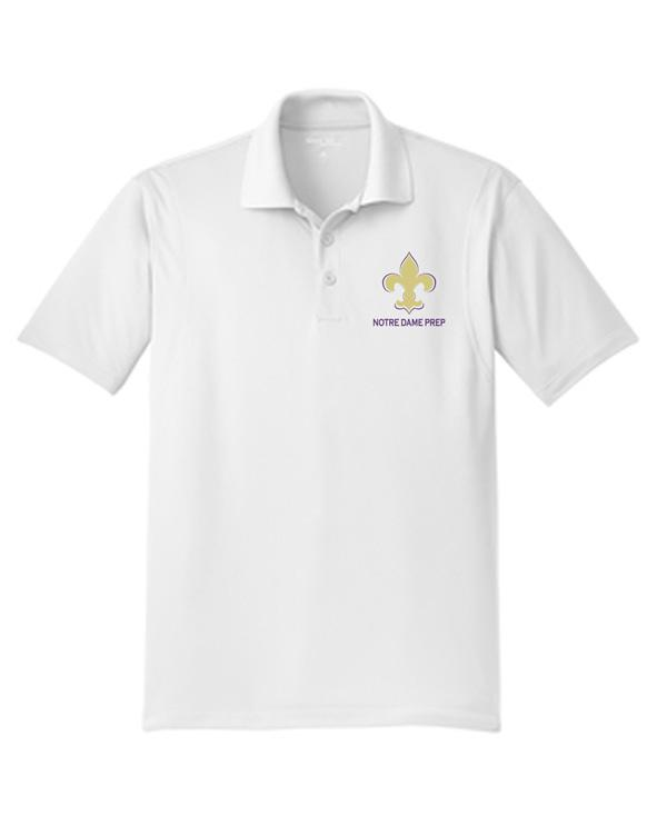 ST650 Notre Dame Boys 9-12 Dry Fit Polo