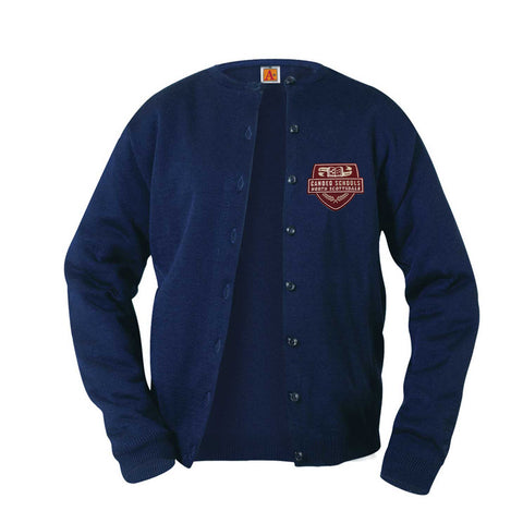 4917 Candeo North Scottsdale Girls Cardigan NAVY
