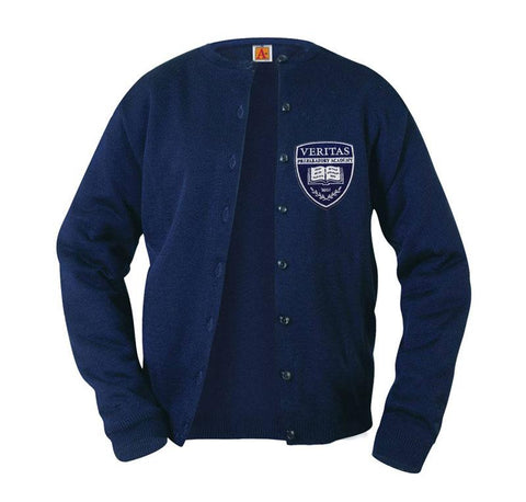 4917 Veritas Prep Girls Cardigan
