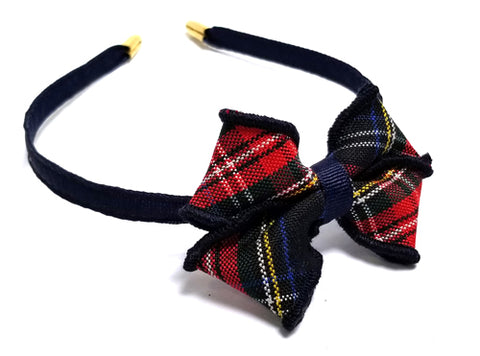 Saint Theresa Small Bow Headband