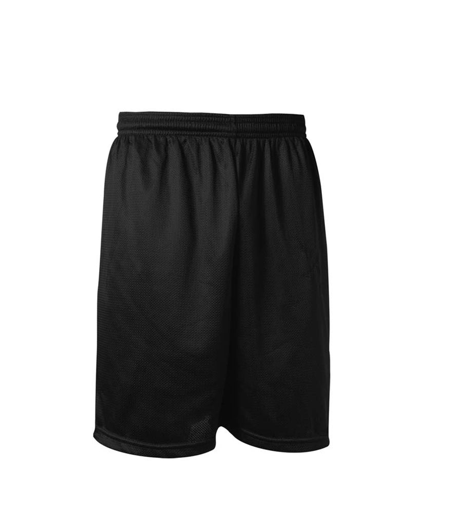 Saint Theresa Unisex Black Mesh Gym Shorts PS-8TH GRADE