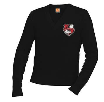 6500 Chandler Prep BLK Pullover Sweater