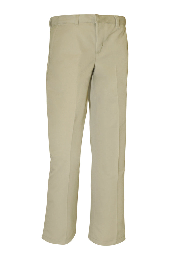 Lincoln Prep Boys/Mens Flat Front Pants