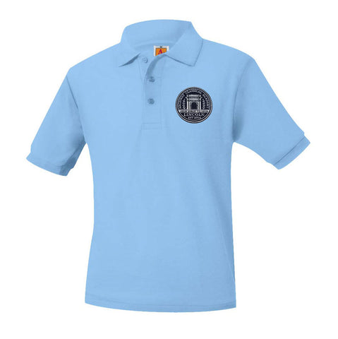 8761 Archway Lincoln Unisex Short Sleeve Polo