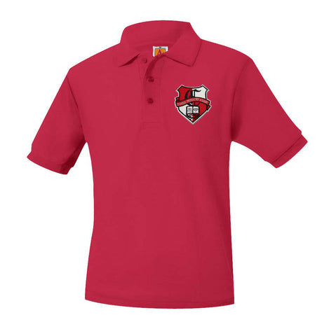 8761 Chandler Prep Academy Unisex Short Sleeve Polo