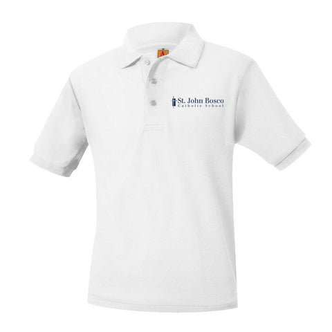 St. John Bosco Unisex Short Sleeve Polo