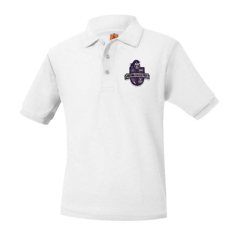8761 Arizona College Prep Unisex Short Sleeve Polo