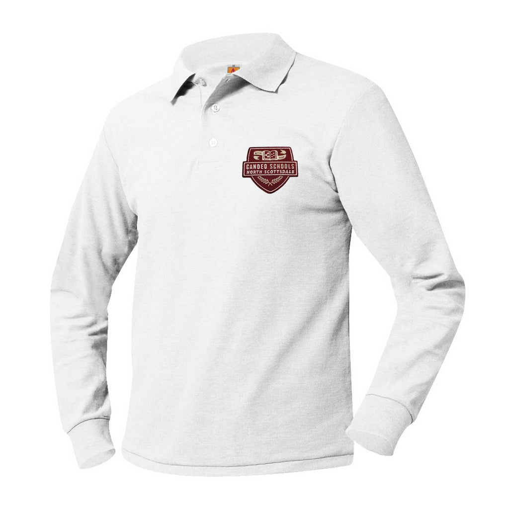 8766 Candeo North Scottsdale Long Sleeve Polo