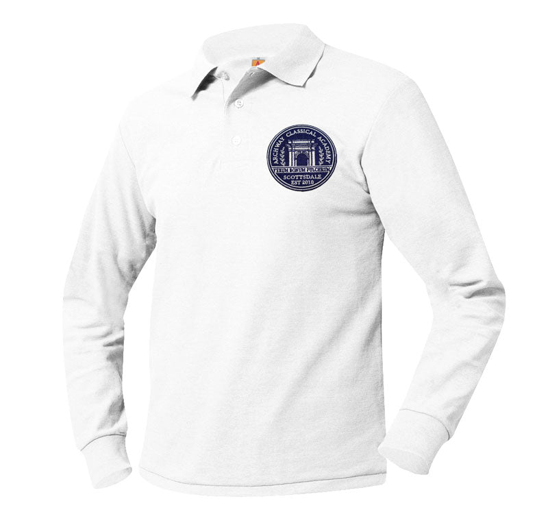 8766 Archway Scottsdale Long Sleeve Polo