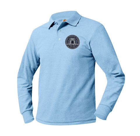 8766 Archway Lincoln Long Sleeve Polo