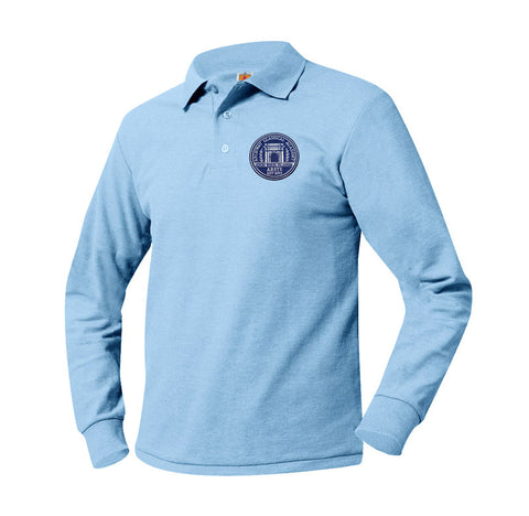 8766 Archway Arete Long Sleeve Polo