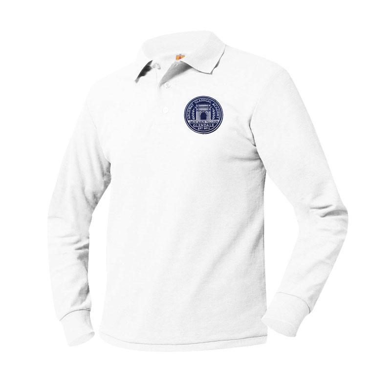 8766 Archway Glendale Long Sleeve Polo