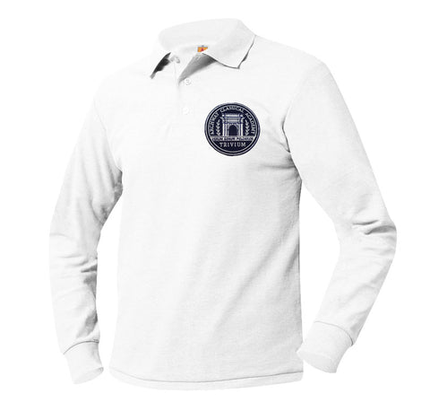 8766 Archway Trivium Long Sleeve Polo