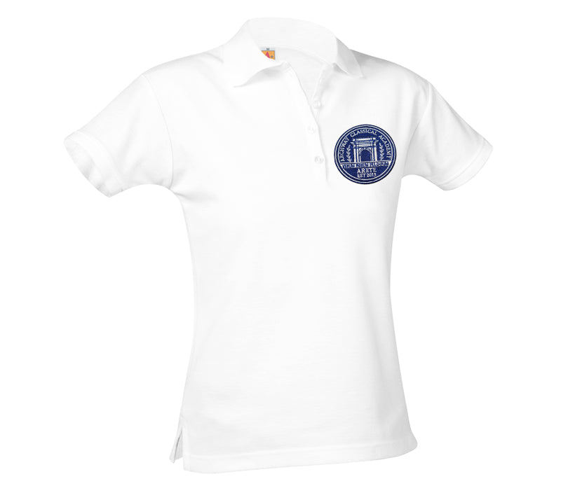 9715 Archway Arete Girls Short Sleeve Polo