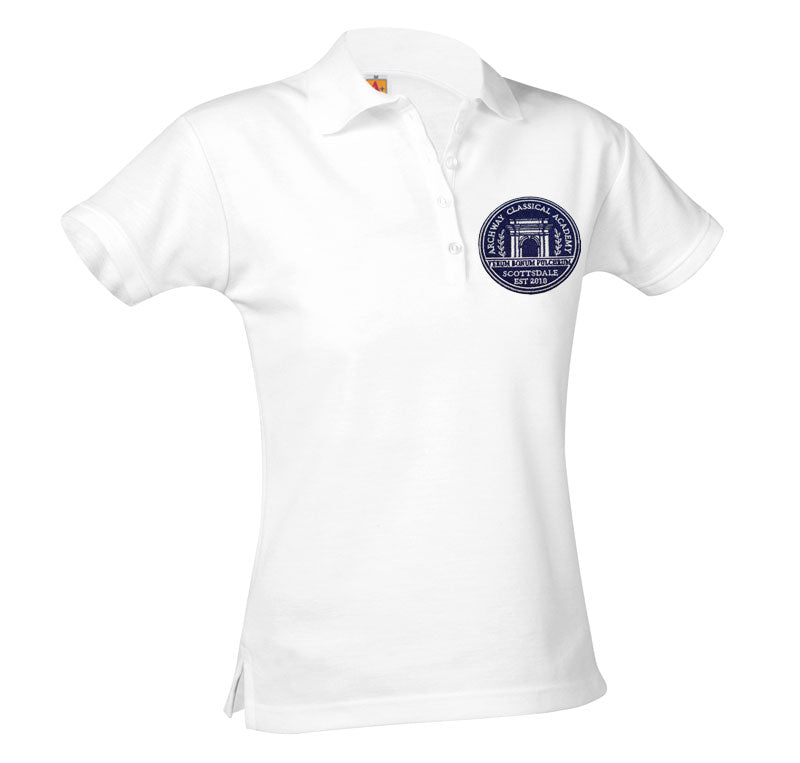 9715 Archway Scottsdale Girls Short Sleeve Polo