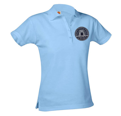9715 Archway Lincoln Girls Short Sleeve Polo