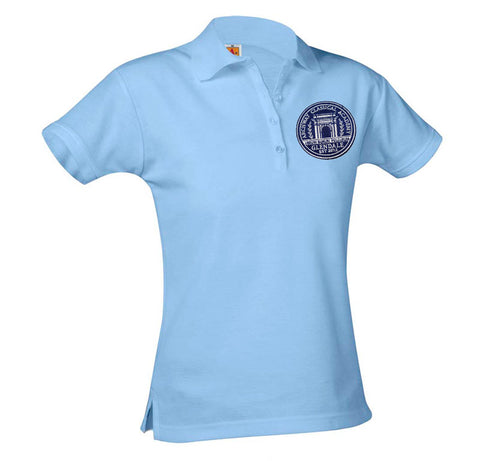 9715 Archway Glendale Girls Short Sleeve Polo
