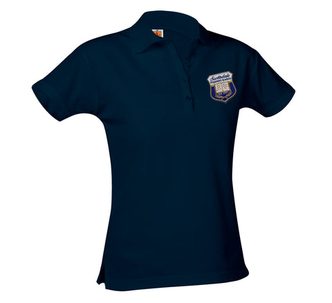 9715 Scottsdale Prep girls short sleeve polo