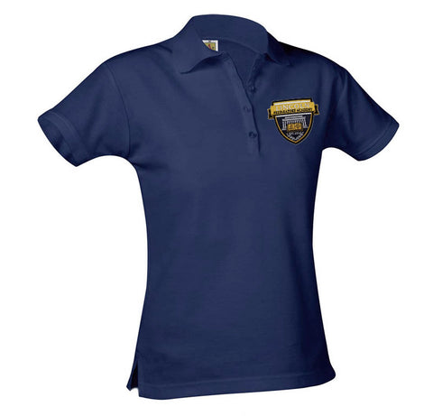 9715 Lincoln Prep Girls Short Sleeve Polo