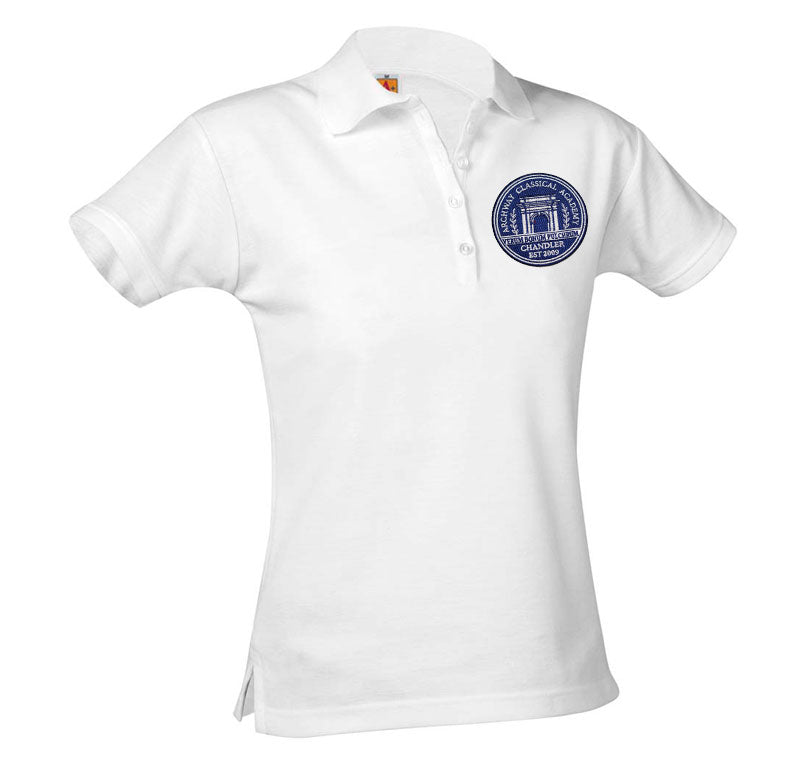 9715 Archway Chandler Girls Short Sleeve Polo