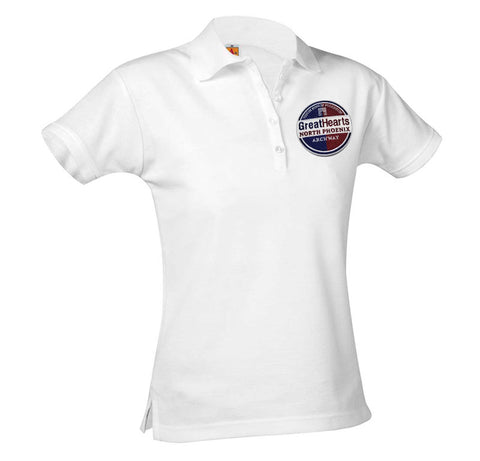 9715 Archway N Phx Girls Short Sleeve Polo