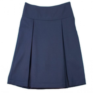 1034PSR Archway Arete Girls Kick Pleat Skirt NAVY