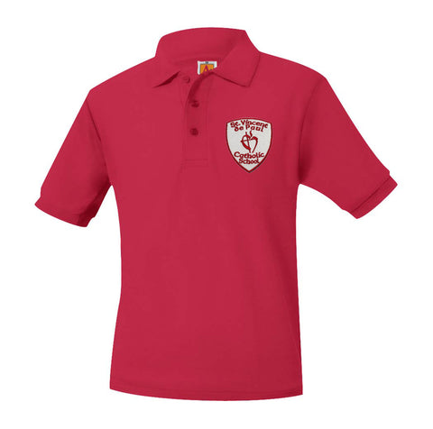 Saint Vincent De Paul K-8 Unisex Polo 8761