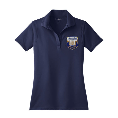 LST650 Scottsdale Prep Girls Dry Fit polo