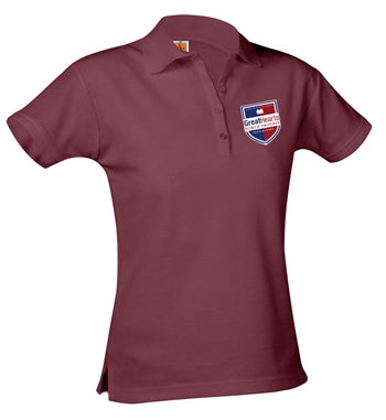 9715 North Phoenix Prep Girls Short Sleeve Polo 7th-12th Grade