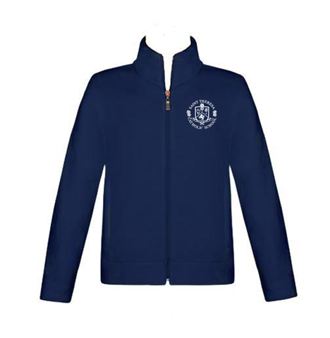 Saint Theresa Athletic Jacket fleece lined PS-8TH GRADE