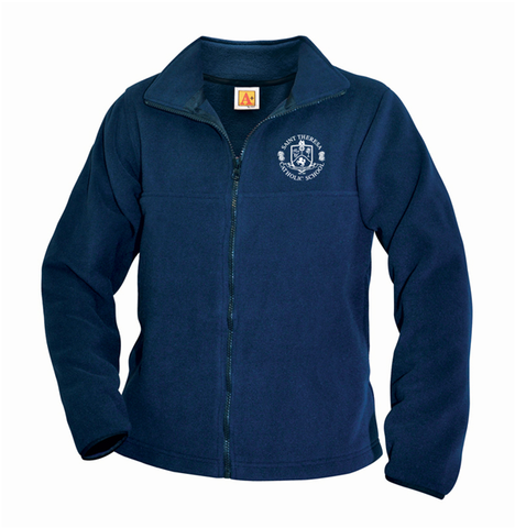 Saint Theresa Full Zip Fleece PS-8TH GRADE