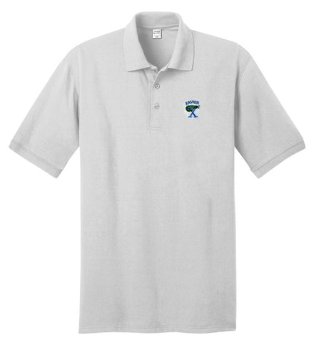 Xavier Prep Short Sleeve Jersey Knit Polo