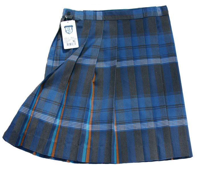 1032PPR PLD 1F Xavier Prep Knife Pleat Plaid Skirt