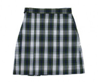 1034BPR PLD 80 All Saints Girls Plaid Skirt
