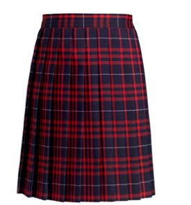 STA -Grades 4th-8th Plaid Skirts