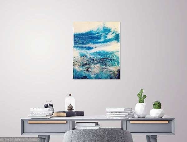 Water is my element - Resin painting