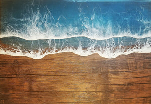 Ocean Painting with Resin