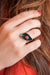 charm ring- Lucky eye ring