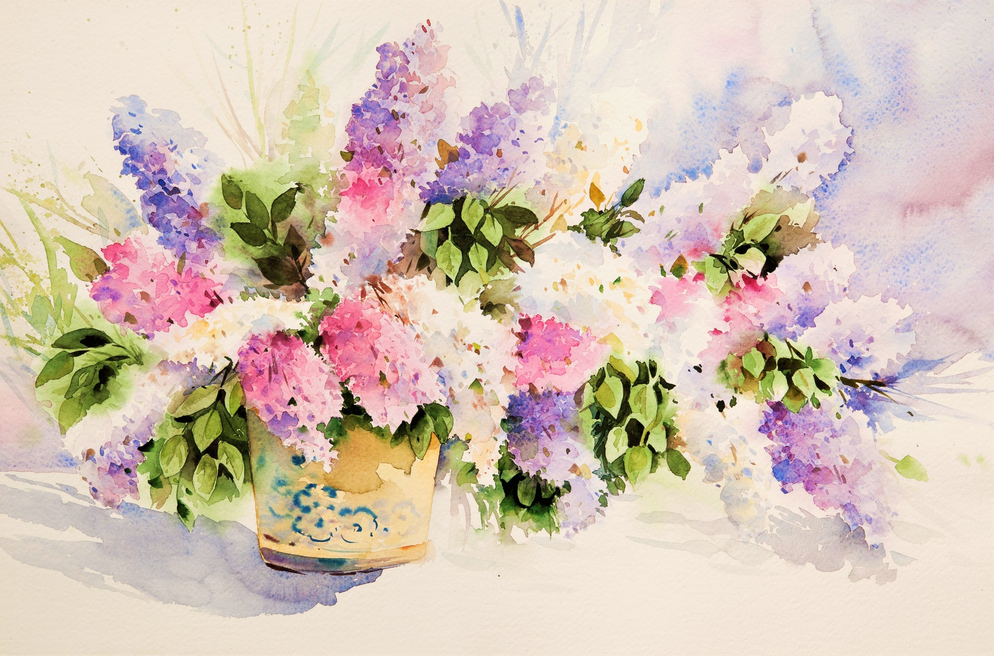 Artszy watercolor freshness painting