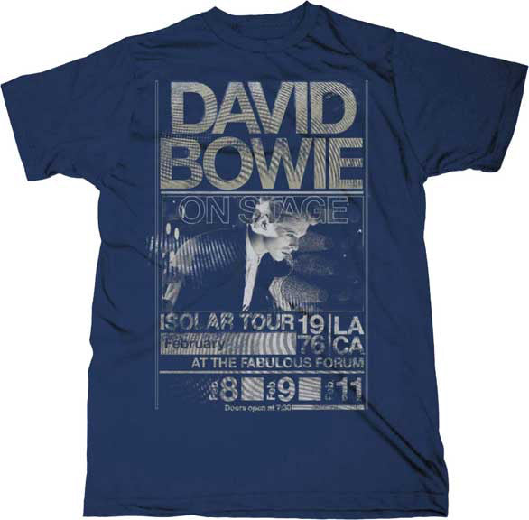 Story behind the shirt: David Bowie ISOLAR 76 T-shirt